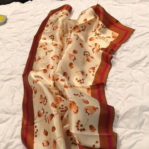"Accessories - 🌻🌻Silk scarf. 34"" X 35"". New. Never worn"